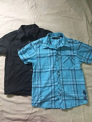 Boys Size 10 Shirts Billabong