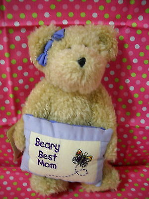 "Boyds Bears Plush ""susie B. Bearlove"" Style#82521 Mother's Day W/tag"