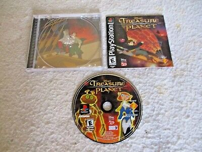 Disney's Treasure Planet (Sony PlayStation 1, 2002) PS1 COMPLETE
