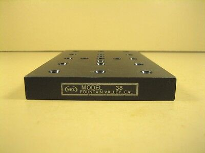 """Newport  Mounting Base Plate  3"""" x 5"""" x .5""""  1/4""""-20 Threads"""