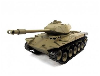 NEWEST 2.4G Henglong 1:16 R/C S&S M41A3 Walker Bulldog Tank