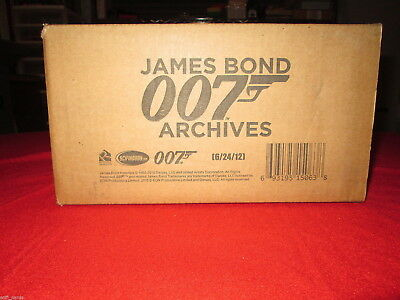 2015 James Bond Archive Factory Sealed 12-Box Case 24 Autographs! Rittenhouse