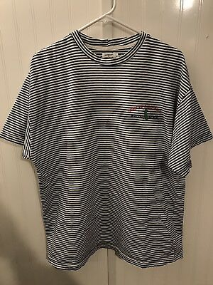 02e4f00098f1 Vintage Guess Jeans Striped T-shirt Georges Marciano Malibu Beach 80s/ 90s  RARE