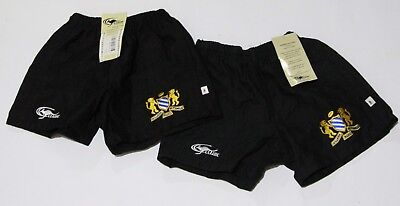 2 x BRAND NEW BNWT KILLARA WEST PYMBLE RUFC BOY'S/YOUTH SHORTS SIZE 10