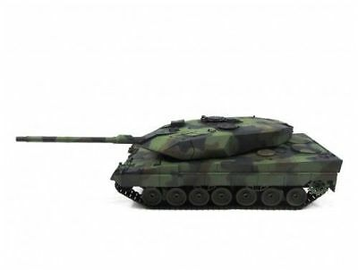 NEWEST 2.4G Henglong 1:16 R/C S&S German Leopard2 A6 Tank