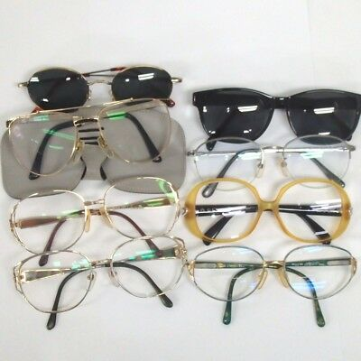 Authentic Christian Dior & Sunglasses 8 pieces set Glasses [Used]