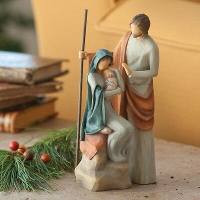 "Heilige Familie ""Holy Family"" von Willow Tree Krippe"