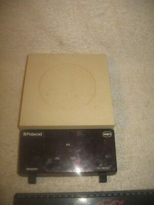 Vintage Polaroid Sabco Digital Kitchen Scales 1983 Collectible Unusual Rare ?
