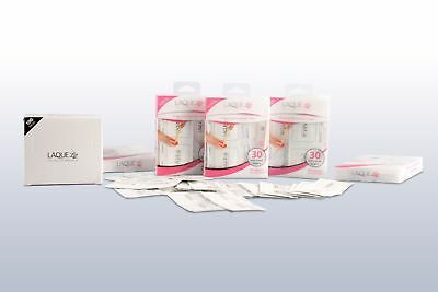 Take-Home Kit 100 pack of Shellac And Gel Polish Remover Wipes Collagen Infused