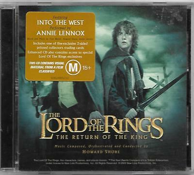 Lord of the Rings Return of the King soundtrack CD Howard Shore
