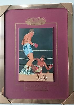 Gallery of Greats: Henry Cooper vs Muhammad Ali 1963 Commemorative Portrait