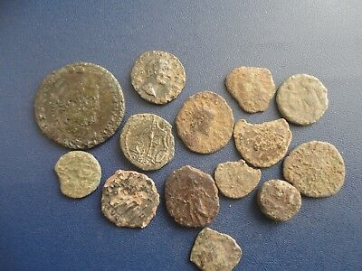 metal detecting finds. roman coins