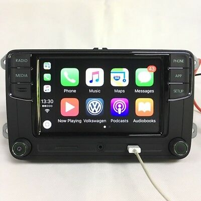 "Green Light Carplay RCD330 6.5"" MIB Car Radio Bluetooth For Skoda Octavia Rapid"