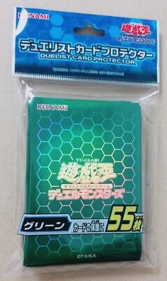 Yu-Gi-Oh! Official Card Sleeve Protector/ Green (55pcs)