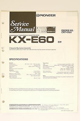 kenwood service manual kx 96w cassette deck original 8. Black Bedroom Furniture Sets. Home Design Ideas