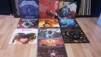 Lot De 20 Lp Hard Rock / Metal /rock