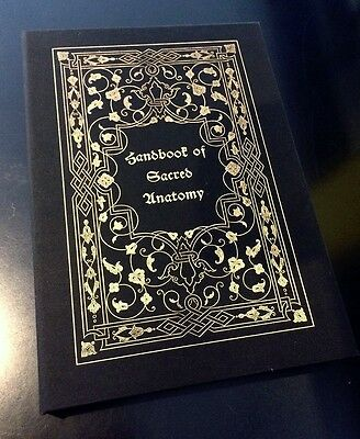 Handbook of Sacred Anatomy by Jose Gabriel Alegria DELUXE occult art grimoire