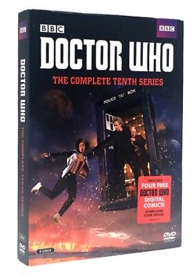 Doctor Who: The Complete Tenth Series DVD Brand New Season 10 Ships 11/27 FREE !