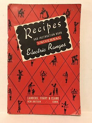 Recipes & Instruction Book Universal Electric Ranges