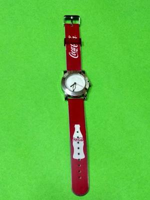 coca cola special  watch men and women ladies red nice fashion design