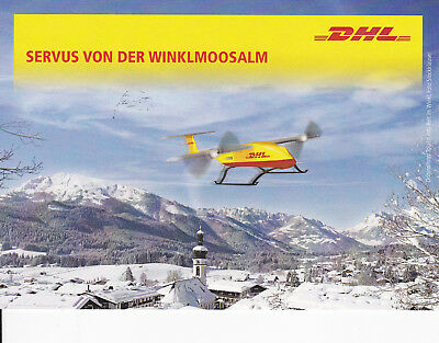 DHL Plusbrief Individuell Limited Paketkopter Edition 10 August 2016 Bonn