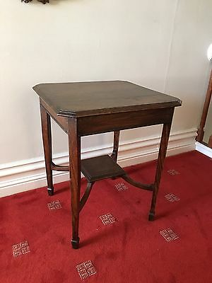 Antique Victorian Oak Side / Hall Table