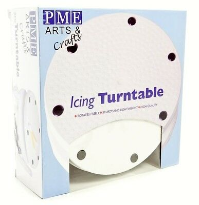 PME Cake Decorating Icing Turntable