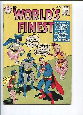 Worlds Finest #113   8.0  Vf  Strictly Graded!  One Owner!  Nice Pages!