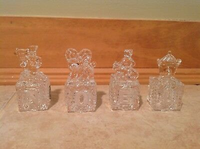 Lenox Crystal NOEL Christmas decoration