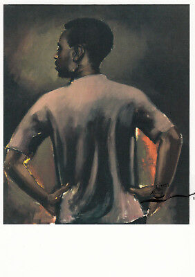 Postkarte: Lynette Yiadom-Boakye - Some Distance From Now, 2013 - Fußballer