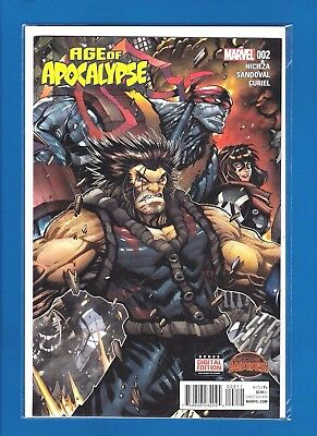 AGE OF APOCALYPSE #2A (2015) NM SECRET WARS Connecting cover