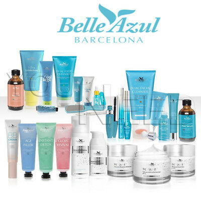 Linea Belle Azul: Cosmetics from Barcelona - A touch of Love