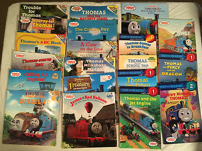 Lot 20 THOMAS & FRIENDS Engine DIESEL 10 Stickers LEVEL READERS James Picture