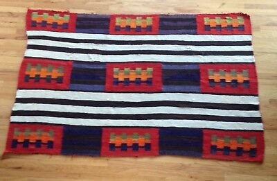 Old Navajo Chief Blanket / Rug