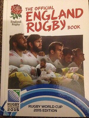 The Official England Rugby Book: Rugby World Cup 2015 Edition New