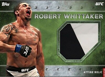 RELIC SERIES 3 ROBERT WHITTAKER ATTIRE RELIC Topps UFC Knockout Digital Card