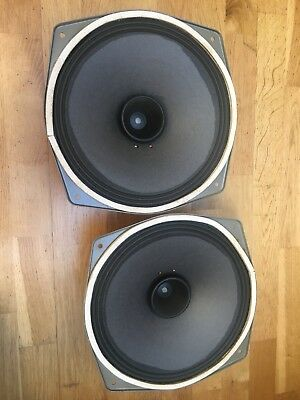A Pair of RFT L 3401 Vintage Fullrange Speakers Klangfilm Kino Zeiss