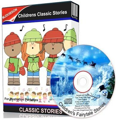 Great Classic Children's Story Hansel & Gretel Audio CD -  Kids books on CD
