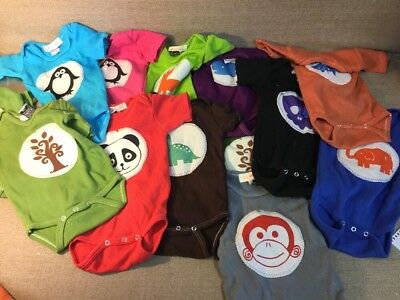 20 Lil Fishy 6 Month One Piece Great Condition 6 Long Sleeve + 14 Short Sleeve