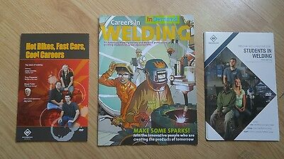American Welding Society 3 Pack Set: 2 DVDs/Careers In Demand : Welding