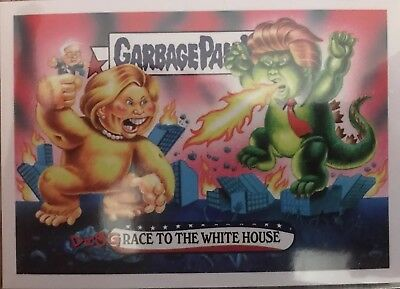Garbage Pail Kids Disgrace To The White House Full Set 152 Cards