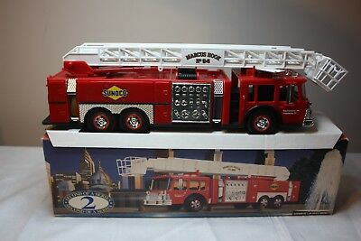 Sunoco Aerial Tower Fire Truck New in Box 1995 Release