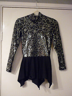 Girls Ice Skating Dress Stunning Dress Age 8 / 9  Years Excellent Condition