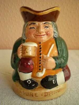 Royal Doulton Toby Jug - Honest Measure - Green Jacket - D6108 - Made in England