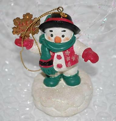 Snowman Ornament San Francisco Music Box Company Let It Snow