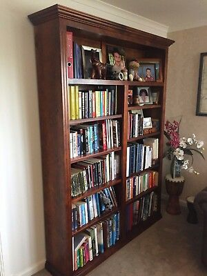 Solid Pine Timber Bookcase