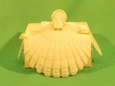 Margaret Furlong Christmas Ornament 1995 Angel Holding A Gift With Box