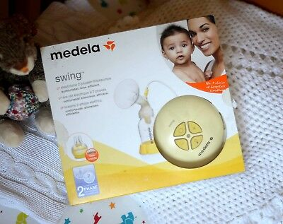 Medela Swing 2-Phase Electric Breast Pump with Calma - New 'Ex-Display'