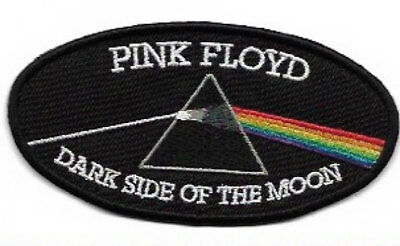 Pink Floyd Dark Side of the Moon Embroidered Patch / Iron On Applique