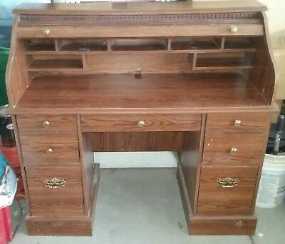 Antique Roll Top Desk -  PICK UP ONLY, Las Vegas, Nevada